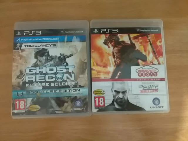 Tom clancy's pack 3 juegos