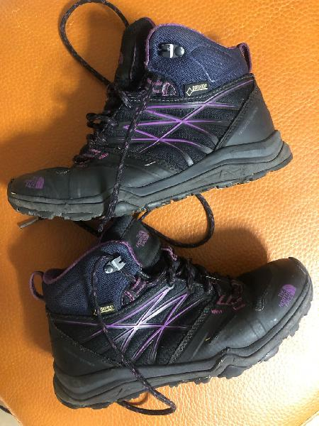 Botas north face gore tex. talla 36 1/2