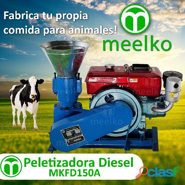 Peletizadora diesel mkfd150a