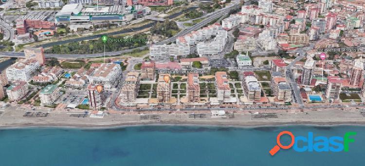 ¡oportunidad de inversión! tres locales comerciales en primera línea de playa de fuengirola