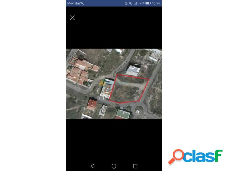 Se vende parcela urbana san isidro casco