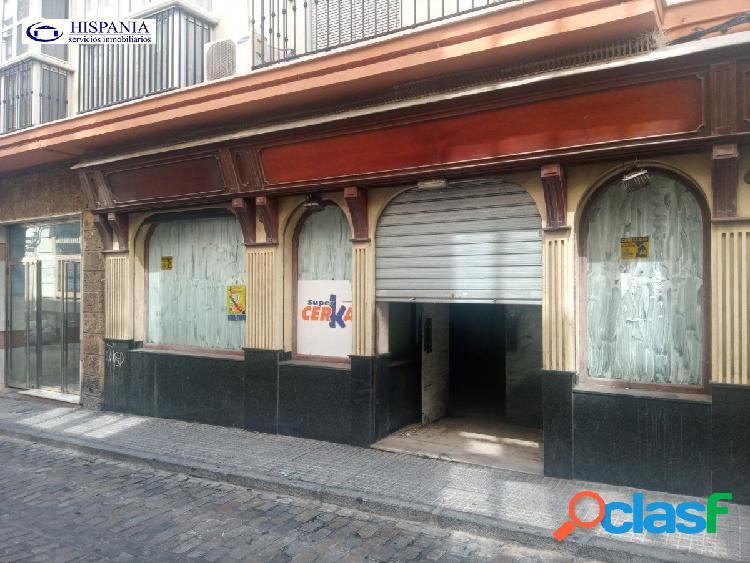 Local comercial en c/sagasta, 400 m2 diáfano, preinstalacion aire acondicionado