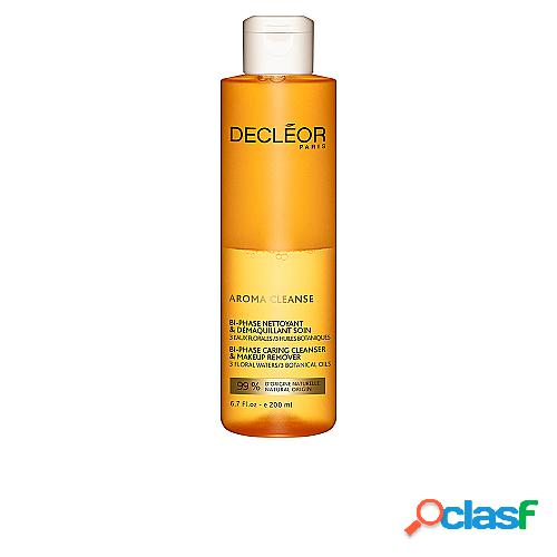 DECLEOR AROMA CLEANSE bi-phase nettoyant & démaquillant soin 200 ml