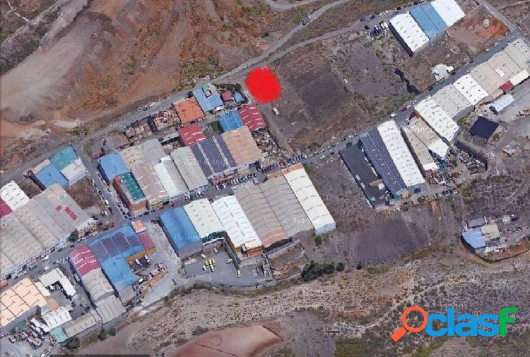 Great investment opportunity! industrial plot, in the industrial area la cazuela (tamaraceite) province of las palmas. t