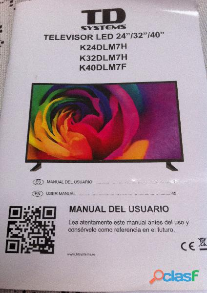Televisor LED de 32 pulgadas nuevo 1