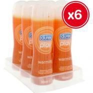 DUREX PLAY WARMEND 50ML (6 UDS) GRU22265