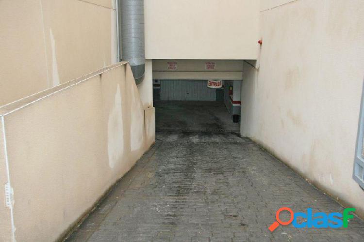 Plazas de aparcamiento subterraneas
