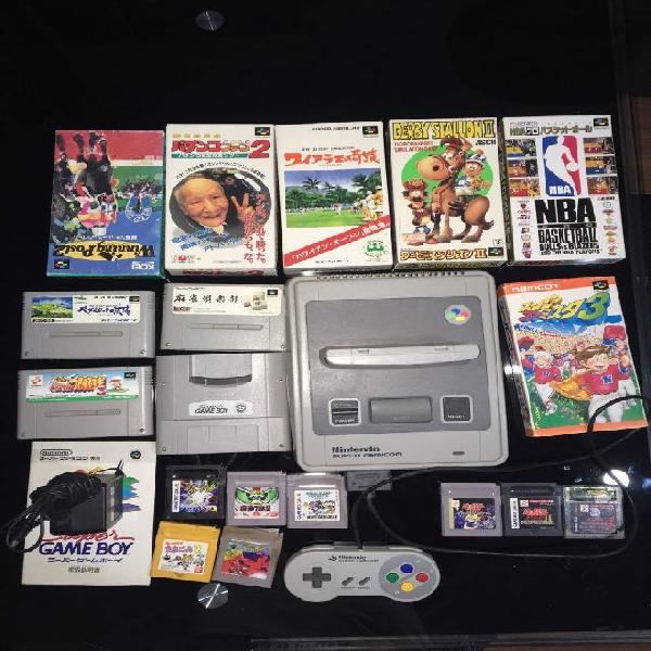Nintendo snes superfamicom sfc + extras