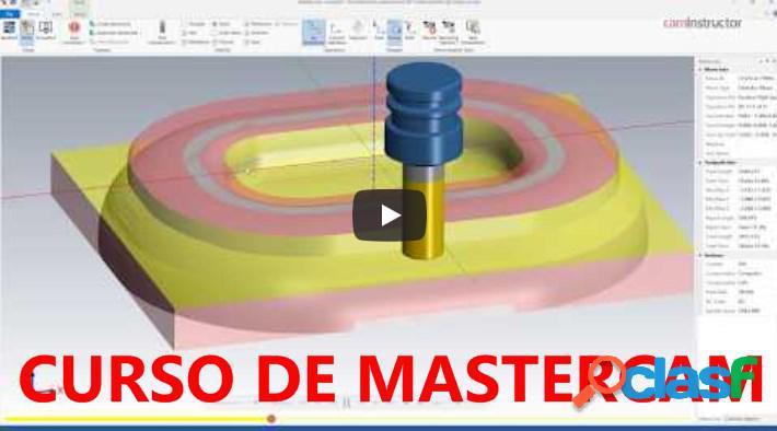 ★ ?? curso de mastercam y programación cnc | diseño 3d