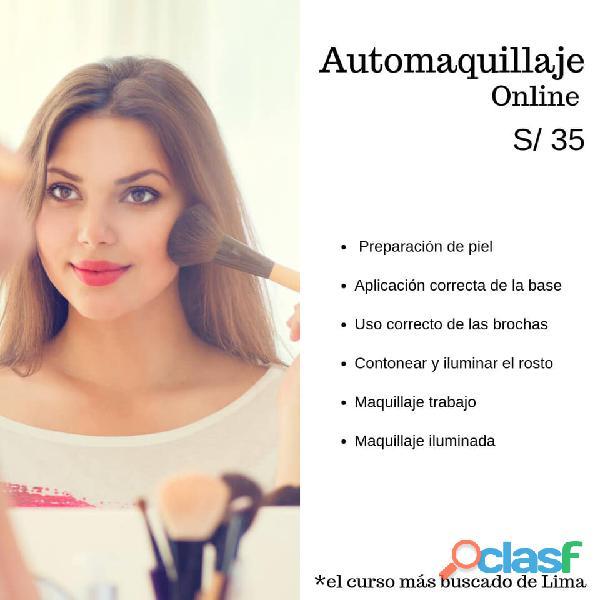Curso Profesional de Auto Maquillaje 4