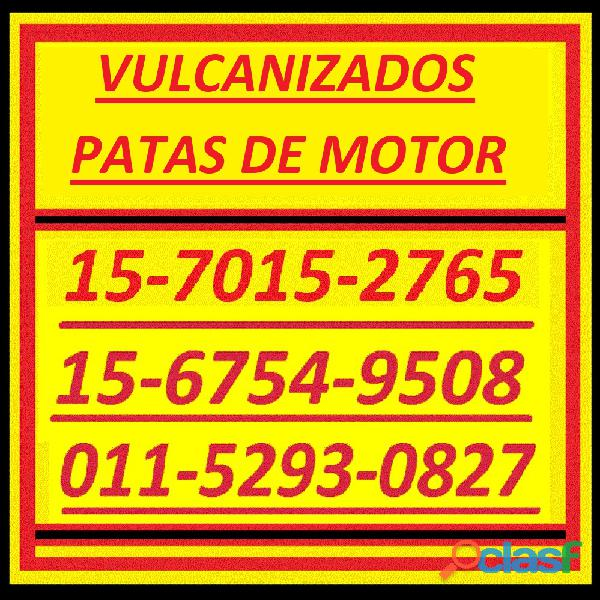 Piezas Especiales 15 7015 2765 Patas Motor Vulcanizado 9