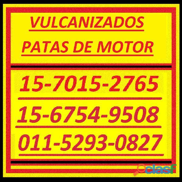Piezas Especiales 15 7015 2765 Patas Motor Vulcanizado 17