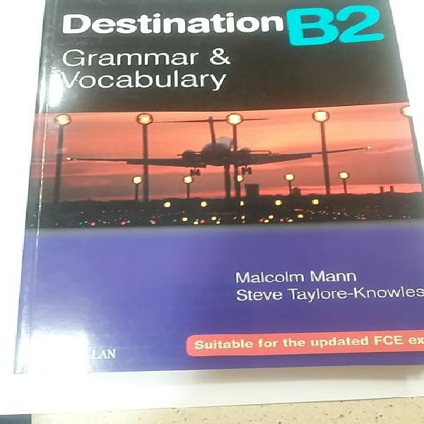 B2 inglés libro grammar & vocabulary