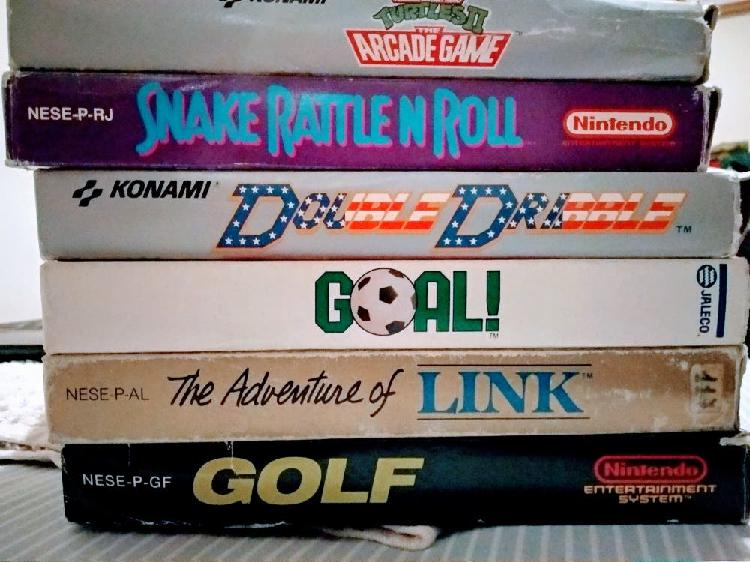 Lote pack juegos completos nintendo nes nese ness.