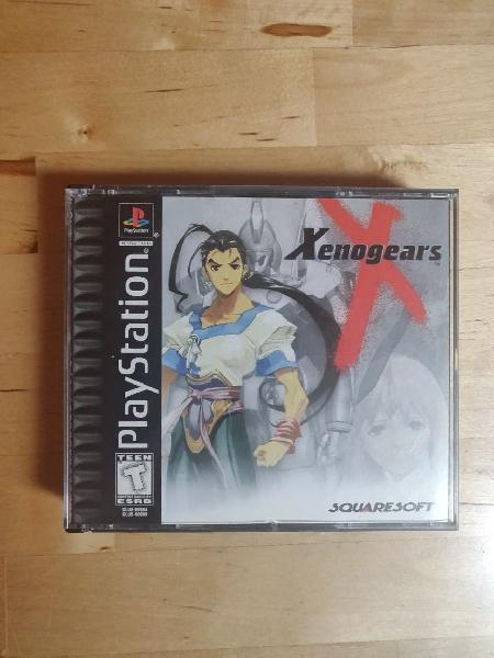 Xenogears. juego completo para psx (ps1, ps2, ps3)