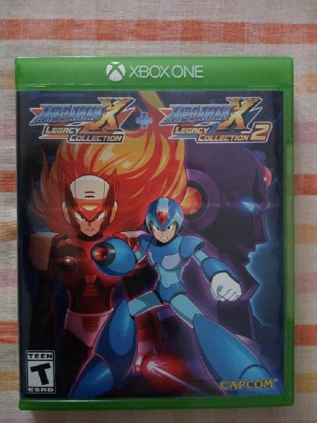 Megaman x legacy collection 1+2. xbox one. nuevo.
