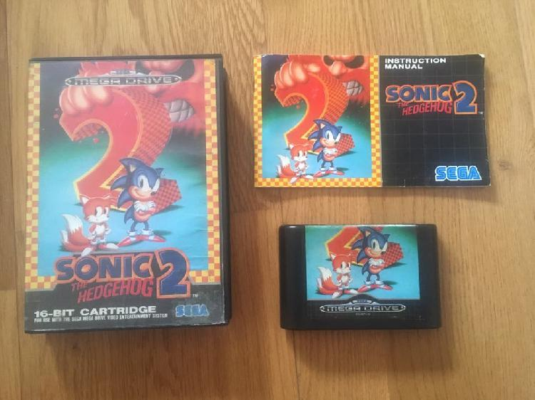 Sonic the hedgehog 2 sega megadrive