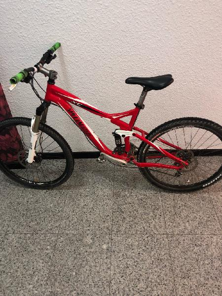 Specialized xc doble suspension