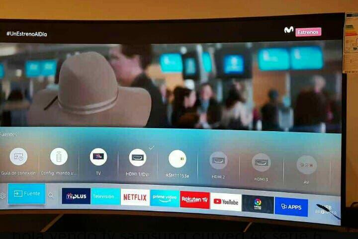 Tv samsung curved uhd 4k 49p