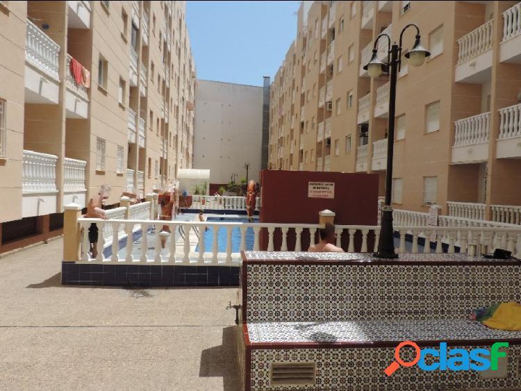 Apartamento 2 dormitorios, piscina y garaje