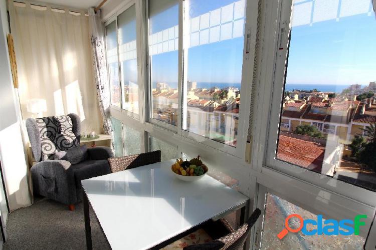 Fantástico apartamento con vistas al mar
