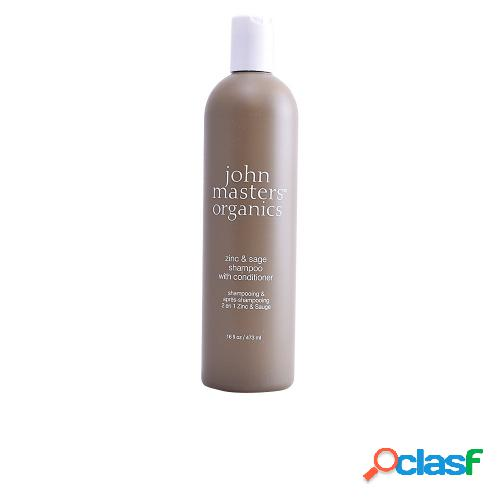 John masters organics zinc & sage shampoo with conditioner 473 ml