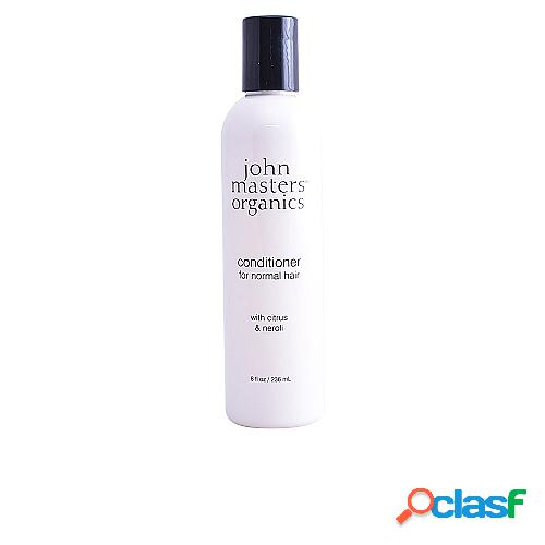 John masters organics citrus & neroli conditioner normal hair 236 ml