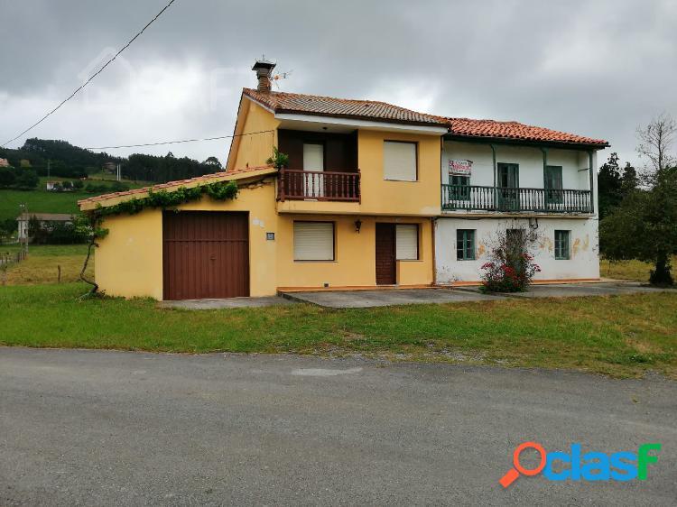 3 viviendas con 6000 m2 de terreno en parbayón, cantabria