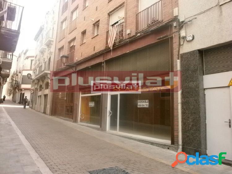 Local comercial en vilafranca del penedès, ubicado en zona céntrica, calle peatonal.