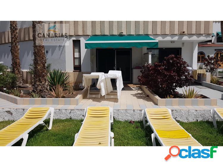 Apartamento estudio con amplia terraza, playa del ingles, san bartolomé de tirajana, gran canaria.