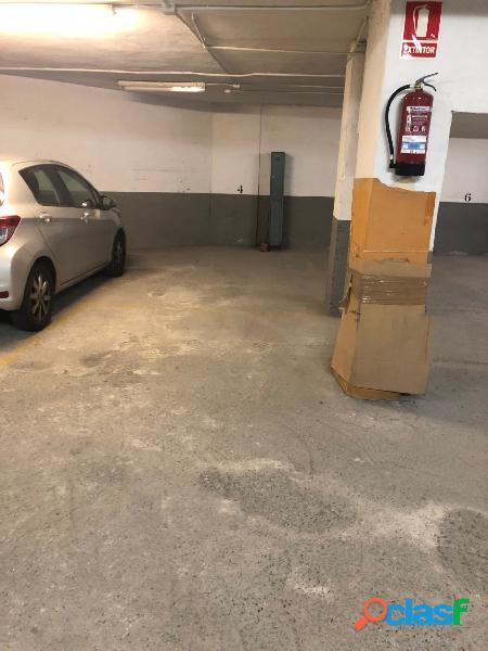 Plaza de garaje en benalúa