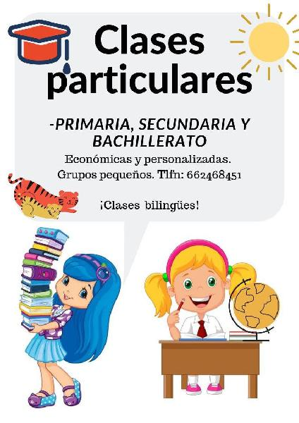 30€ clases particulares