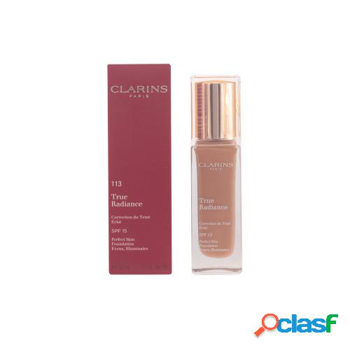 Clarins true radiance correction du teint éclat #113-chestnut 30 ml