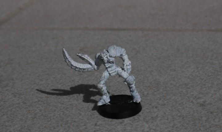 Blood bowl miniatura original metal dorjack sureclaw mutante