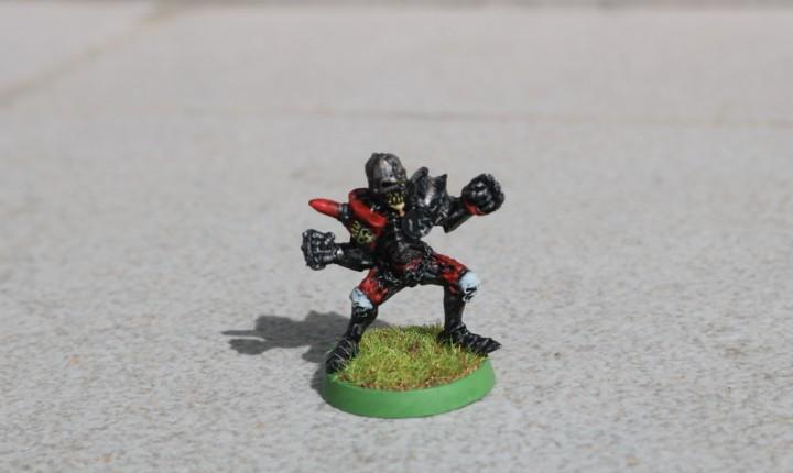 Blood bowl miniatura original metal tumulario pintado no