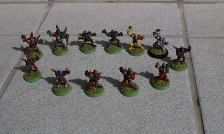 Equipo blood bowl no muertos games workshop 3a edición 1994
