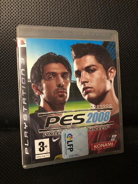 Pes 2008 play station 3