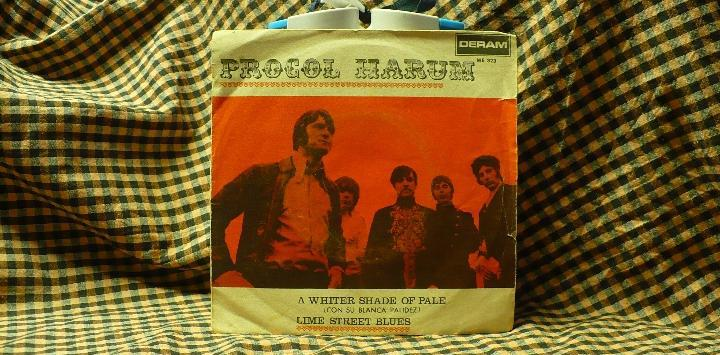 Procol harum -- a whiter shade of pale / lime street blues,