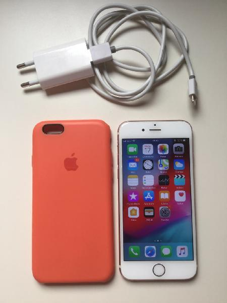 128gb negociable iphone 6s blanco/oro rosa