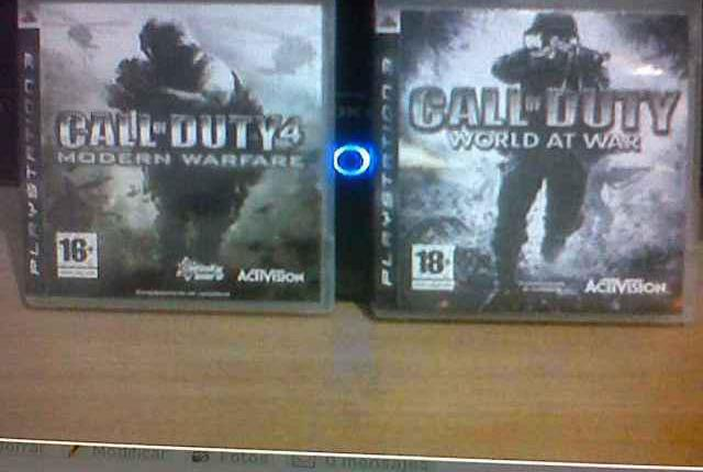 Call of duty mw4 y call of duty world at war ps3