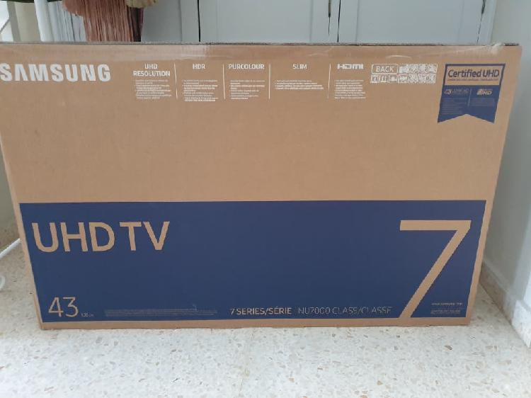 Tv led samsung 4k 43 pulgadas