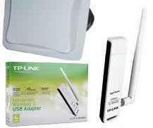 Tp link usb wireless 54mb con antena