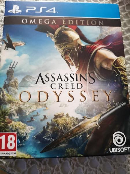 Assasins creed odyssey ps4 omega edition