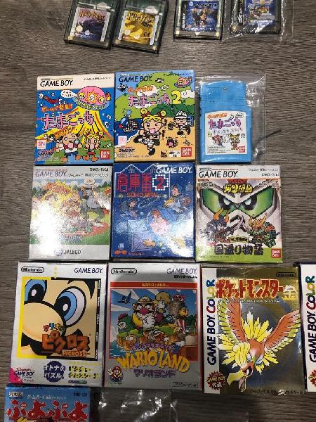 Juegos gameboy game boy gameboy color caja