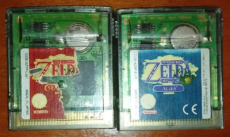 Oracle of ages & seasons, gameboy color