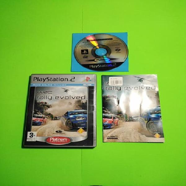 Wrc: rally evolved ps2