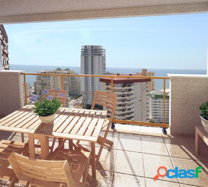 Apartamentos con vistas al mar en calpe