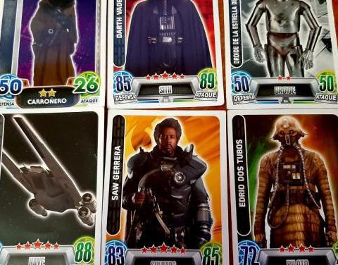 Cromos Force Attax Star Wars