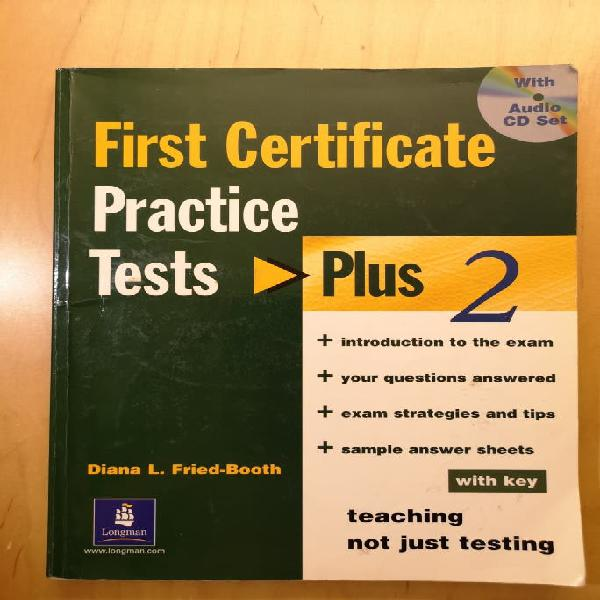First certificate, practice tests plus 2