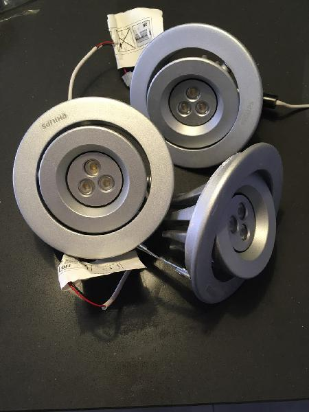Focos led empotrables philips